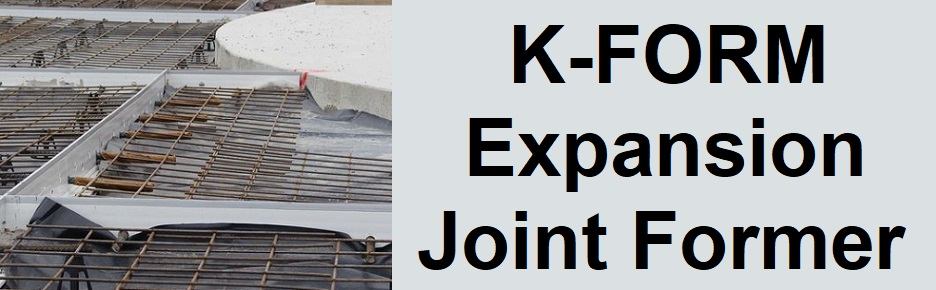 K-FORM Expansion Joint Former