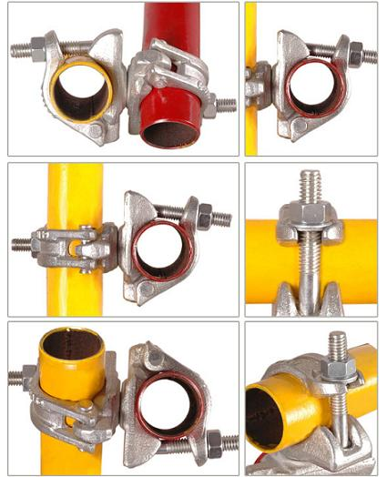 Scaffolding Swivel Clamps - Acoplador do andaime braçadeira do giro