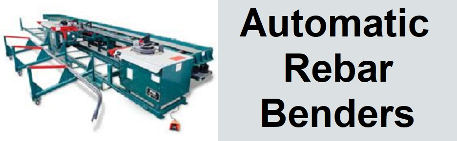 Automatic Bar Benders