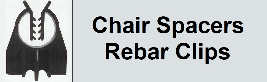 chair spacers or rebar clips